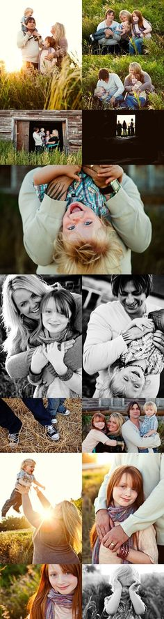 cute family poses by margie