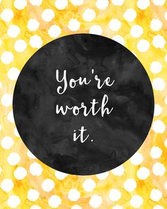 Best Inspirational Quotes About Life QUOTATION – Image : Quotes Of the day – Life Quote You're worth it. Sharing is Caring – Keep QuotesDaily up, share this quote ! Joy Quotes, Daily Quotes, Life Quotes, Reality Quotes, Best Inspirational Quotes, Inspiring Quotes About Life, You Re Worth It, Watercolor Quote, Watercolour
