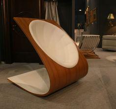 armchair milla3 Dondolo Armchair by Milla Rezanova