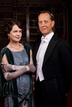 Lady Cora Crawley  and Simon Bricker