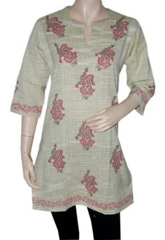 Indian Casual Wear Wear Womens Clothing Top Khadi « Clothing Impulse // I love these kinds of tops