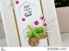 """Australe : Tampons & matrices de coupe (dies) #4enscrap """"Vamos a la playa"""" Keep Calm And Smile, Tres Belle Photo, Playing Cards, Inspiration, Tampons, Scrapbooking, Beach, Owls, Herb Box"""