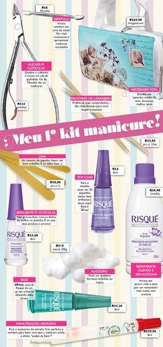 Kit manicure para iniciantes! - Unha Bonita