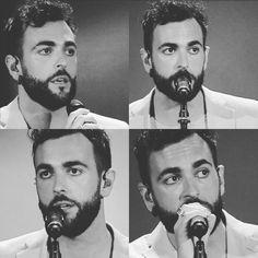 "Marco Mengoni by @marco.mengoni.collages ""P. E. R. F. E. T. T. O. Questi sguardi 😻😻 #MarcoMengoni  #bellissimo  #bravissimo  #amore  #love  #OcchiGrandi  #BigEyes  #barba  #beard  #SoloDueSatelliti  #MTV  #MTVAwards  #Verona  #ArenaDiVerona  #TheBestSinger  #TheBestMusic  #MusicaItaliana  #ItalianMusic """