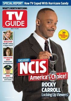 2b286d0a6efc Check out Rocky Carroll s TV Guide cover! Ncis Rules