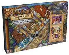 Harry Potter Diagon Alley Board Game Collectibles Collection Gift NEW for Like the Harry Potter Diagon Alley Board Game Collectibles Collection Gift NEW? Harry Potter Monopoly, Harry Potter Marathon, Harry Potter Diagon Alley, Harry Potter Games, Monopoly Game, Harry Potter Books, Bored Games, Wizard School, Hogwarts