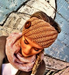 Perfect style to wear with locs!
