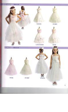 Little Girls Wedding Fashion Beautiful Flower Girls Dress