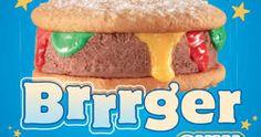 Image result for ice cream burger Hot Dog Buns, Hot Dogs, Sandwiches, Ice Cream, Bread, Image, Food, No Churn Ice Cream, Icecream Craft