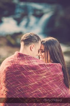 sonoma falls engagement photos - stripling photography