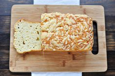 Quick Cheese Bread Makes 1 9-inch loaf  3 ounces Parmesan cheese, shredded on the large holes of a box grater (about 1 cup) 3 cups all-purpo...