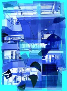 Calder Stairway enhancement #6, via Flickr.