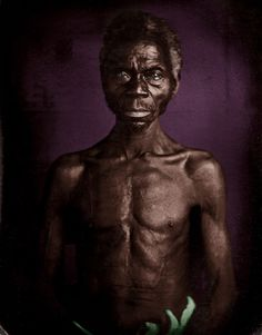 Renty, a man taken from the Congo, in Columbia, South Carolina, in African American Artist, African American History, American Artists, Pays Francophone, Peabody Museum, War Image, Daguerreotype, The New Yorker, Book Photography