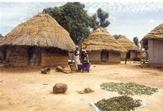Rural Gambia, much the same as other African countries