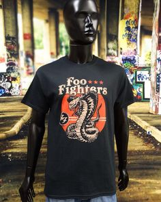 NEW IN STOCK! @foofighters FOO FIGHTERS Official Merchandise Uni-Sex Tee Shirt Various Sizes COBRA NEW http://ift.tt/1KI9wih