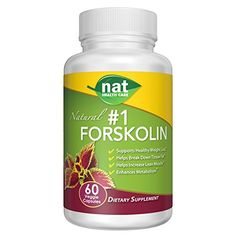Nat Forskolin Weight Loss Formula  60 Veggie Capsule1 Serving Per Day ** Find out more about the great product at the image link.Note:It is affiliate link to Amazon.