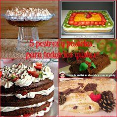 El dulce paladar: Pasteles propios para Navidades y nochevieja