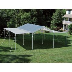 ShelterLogic 2-in-1 MAX AP Canopy — 20ft.L x 10ft.W, Canopy and Event Tent, Model# 25715   Max - 1 3/8in. Dia. Frame Canopies  Northern Tool + Equipment