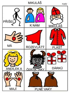 Pro Šíšu: Básničky i pro autíky Pictogram, English Grammar, Czech Republic, Playing Cards, Montessori, Autism, Cards