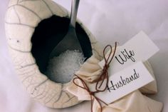 The Salt Covenant: An alternative unity ceremony + wedding gift from Centered Ceramics | Offbeat Bride