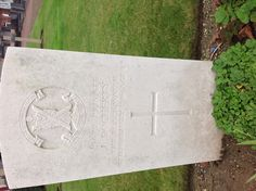 Mazingarbe Communal Cemetery  Executed for desertion 15 February 1916