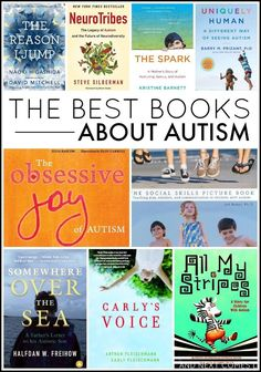 A list of the best books about autism, including social skills books and picture books for children with autism from And Next Comes L