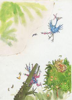 The Enormous Crocodile - Quentin Blake
