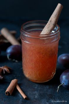 Pflaumenlimonade | plum lemonade | plum | Pflaumen | Pflaumen-Limo | © monsieurmuffin