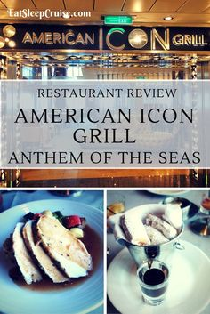 Restaurant Review of American Icon Grill on Anthem of the Seas
