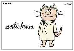 Kissat 14 Finnish Words, Cat Quotes, Charlie Brown, Vocabulary, Language, Lol, Comics, Funny, Animals