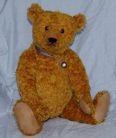 Hampton Bears Waldo 21 vintage style artist bear by hamptonbears, ║✿ pinned by Colette's Cottage ✿