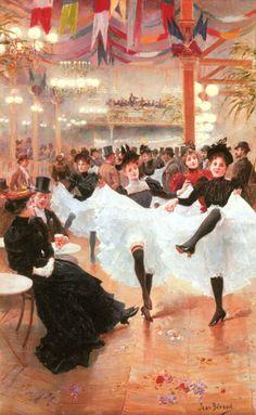 Le Café de Paris by Jean Béraud, date missing (1890's?) France Belle Epoque, Edgar Degas, Jean Beraud, French Impressionist Painters, Jean Leon, Jean Georges, Posters Vintage, Estilo Real, Old Paris