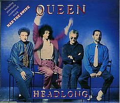 "For Sale - Queen Headlong UK  CD single (CD5 / 5"") - See this and 250,000 other rare & vintage vinyl records, singles, LPs & CDs at http://eil.com"