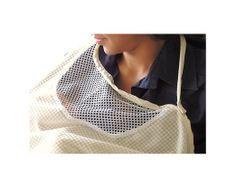 Malla que permite observar a tu bebé mientras toma su leche materna, ideal porque proporciona frescura y privacidad.