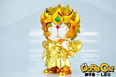 Doracat Saint Seiya Leo Aiolia Aioria Doraemon Ver Gold Cloth Myth Action Figure Toys Buy Home http://www.amazon.com/dp/B00ZRFQW9Q/ref=cm_sw_r_pi_dp_X1aGvb13SY0XE