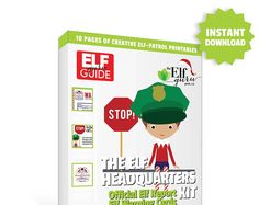 Toodles is always thinking up new, fun ways to help kids become better listeners! So together with 76th & Newbury, he designed the Elf Headquarters Kit- a collection of printables that help your child get on the nice list. Just print, fill out, and leave with your Elf!