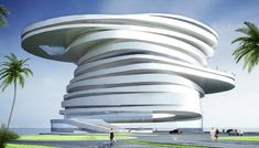 Helix Hotel, Abu Dhabi...is this even built?  need to see this!