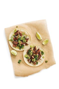 Cinco de Mayo Recipes: Suadero Tacos with Serrano-Cilantro Salsa