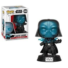 Funko Pop Star Wars Electrocuted Darth Vader Vinyl Figure for sale online Darth Vader Star Wars, Simbolos Star Wars, Funko Pop Star Wars, Disney Star Wars, Rogue One Star Wars, Transformers, Master Of The Universe, Star Wars History, Pop Art