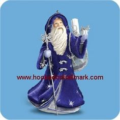 Father Christmas Porcelain Premium Ornament Available October