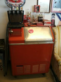Vintage 1961 Coke Coca Cola Ice Chest Soda Vending Machine | eBay