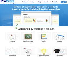 ProProfs: herramienta gratuita que permite crear encuestas en forma de test, pruebas o exámenes