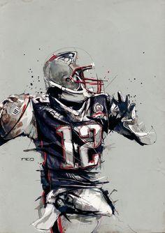 Some Sweet Tom Brady Art