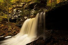 RB Ricketts Waterfall, Ricketts Glen State Park, Pennsylvania