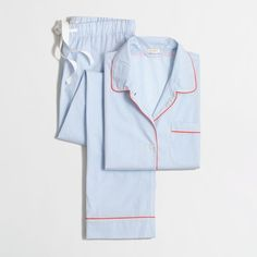 J.Crew Factory pajama set ($50) ❤ liked on Polyvore featuring intimates, sleepwear, pajamas, long sleeve pajamas, j.crew sleepwear, j.crew, j crew pajamas and long sleeve sleepwear