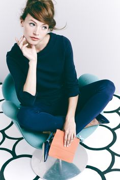 Boden Pants and Sweater. #SS15