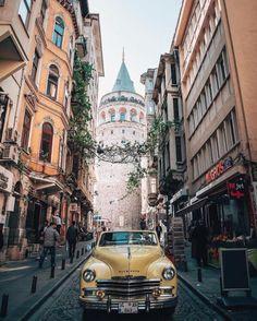 tower Istanbul Built in Galata Tower is located in the Galata district of Istanbul (the Istanbul City, Istanbul Turkey, New Delhi, Prague, Asia, Destination Voyage, Explore Travel, Dream City, Urban Life