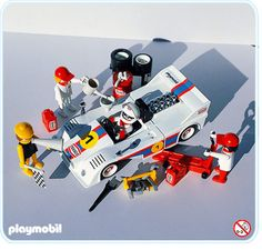 Playmobil racing car, really loved this toy!
