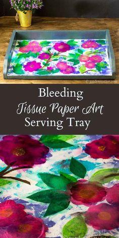 Bleeding Tissue Paper Tray