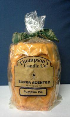 A medium sized candle.